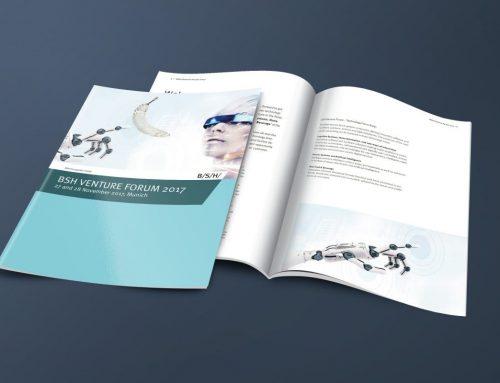 Grafikdesign Magazingestaltung