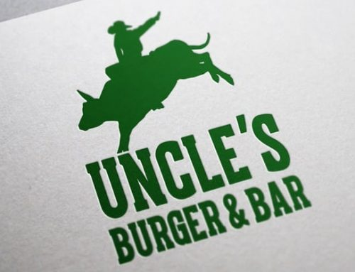 Logodesign Uncles Burger & Bar