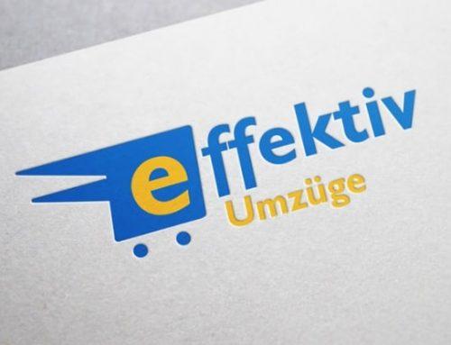 Logodesign Effektiv Umzüge