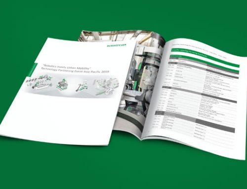 Booklet / Broschüre für Schaeffler