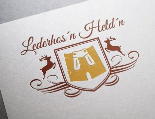 Logogestaltung Lederhosenhelden