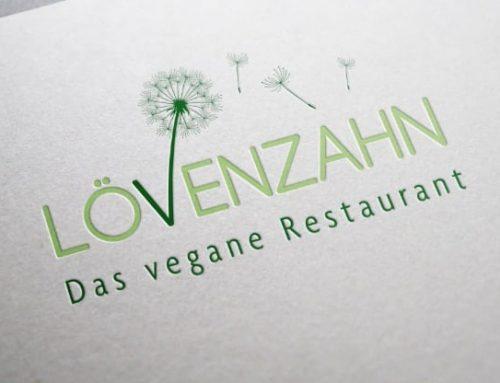 Logogestaltung Restaurant Lövenzahn