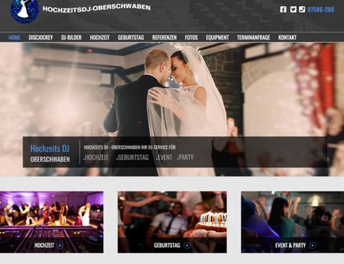 Webdesign Hochzeitsdj Oberschwaben