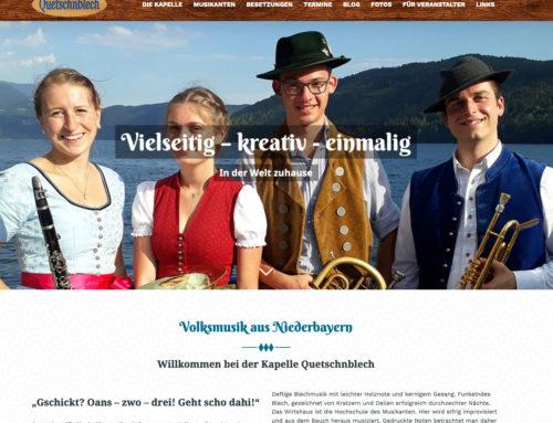 Webdesign Quetschnblech